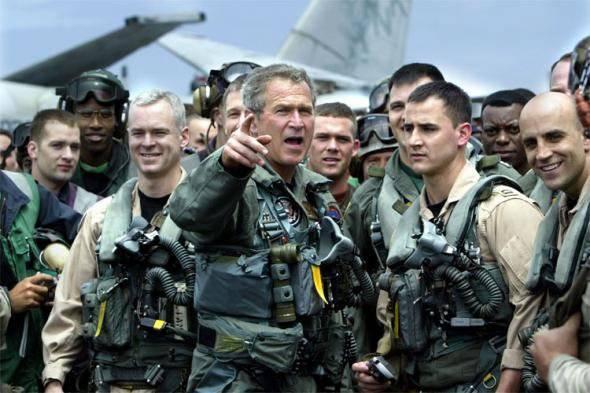 Джордж Буш армия